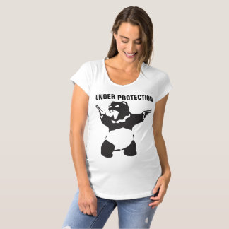Hungry Bear Panda Maternity T-Shirt