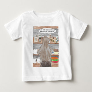Hungry Beaver Baby T-Shirt