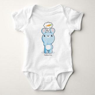 Hungry Bunny Infant Baby Bodysuit