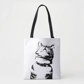 Hungry Cat tote