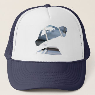 Hungry Cliff Logo Trucker Hat