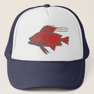 Hungry Fish Trucker Hat