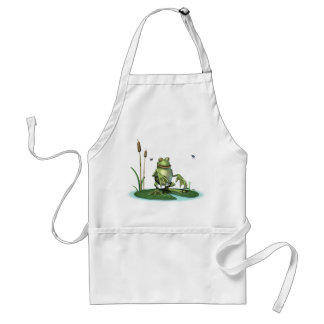 Hungry Frog Adult Apron