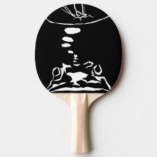 """""""Hungry Frog Dreams"""" Ping Pong Paddle"""