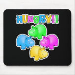 Hungry Hippos Mouse Pad