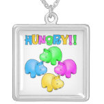 Hungry Hippos Personalised Necklace