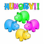 Hungry Hippos Photo Cut Out