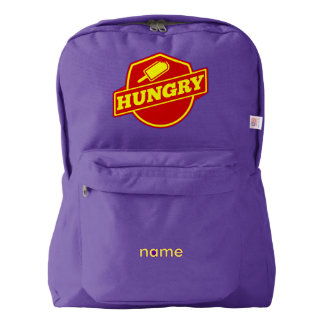 Hungry Ice Pop Logo Backpack