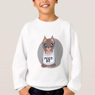 hungry kitty sweatshirt