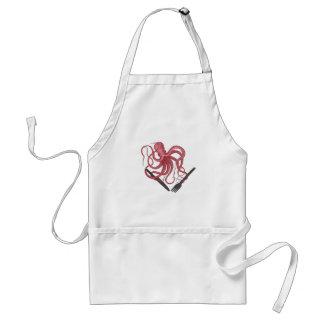 Hungry Kraken apron