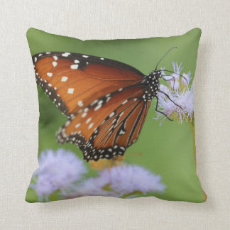 Hungry Monarch Butterfly Cushion
