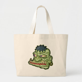 Hungry Monster Tote Bags