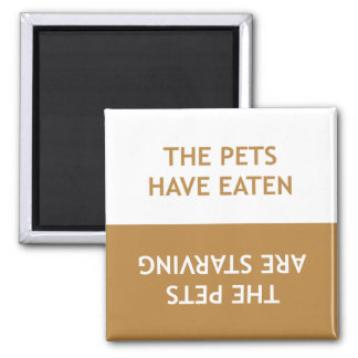 Hungry Pets Magnet