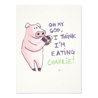 Hungry Pig Card
