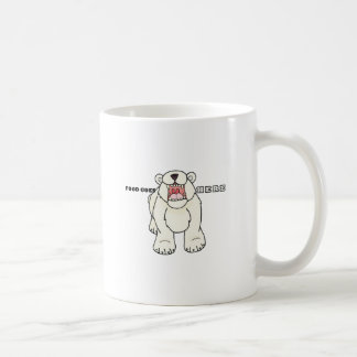 Hungry Polar Bear Coffee Mug