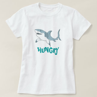 Hungry Shark ladies T T-Shirt