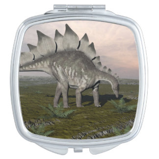 Hungry stegosaurus - 3D render Makeup Mirrors