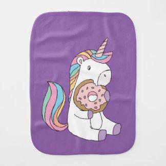 Hungry Unicorns Burp Cloth
