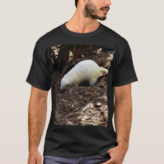 Hungry White Meerkat Digging For Bugs, T-Shirt