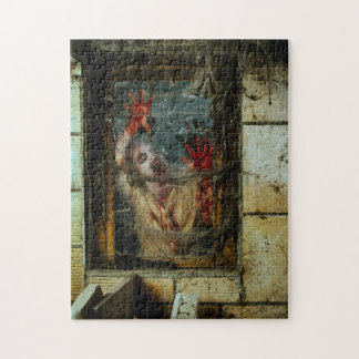 hungry zombie jigsaw puzzle