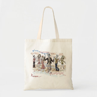 Hungry Zombies Budget Tote Bag