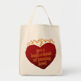 Hunk-A-Hunk 2 Organic Grocery Tote Tote Bags
