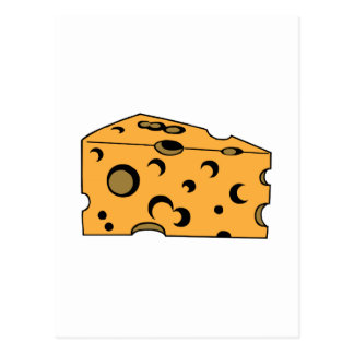 Hunk of Swiss Cheese Postcards