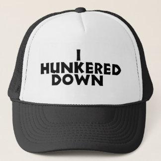 hunker down hat