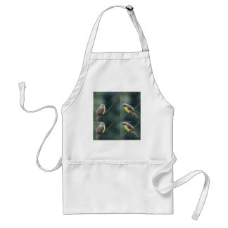 hunkered down or not bird standard apron