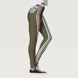 HUNKN'BULL RETRO\CLASSIC –  1974 RACING DGRE\ LEG LEGGINGS