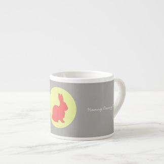 Hunny Bunny Funky Pastel Colors Espresso Mug