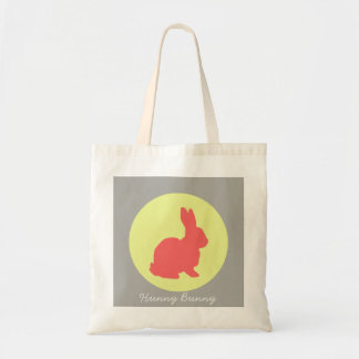 Hunny Bunny Funky Pastel Colors Tote Bag