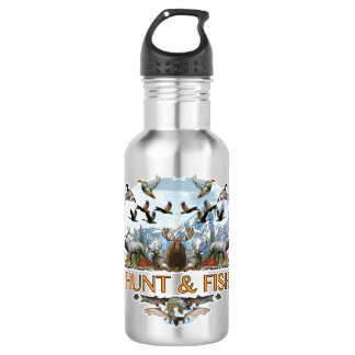 Hunt and fish 532 ml water bottle