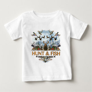 Hunt and fish baby T-Shirt