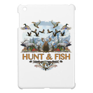 Hunt and fish case for the iPad mini