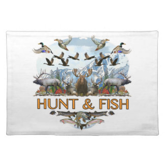 Hunt and fish placemat