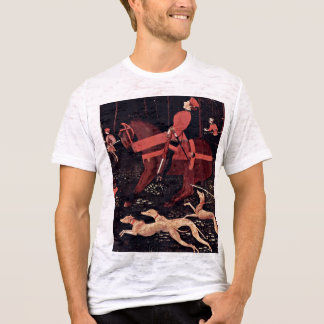 Hunt At Night Details By Uccello Paolo T-Shirt