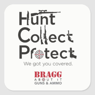 Hunt, Collect or Protect – Sticker