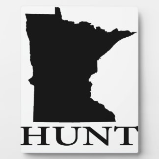 Hunt Minnesota Plaque