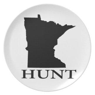 Hunt Minnesota Plate