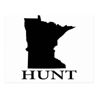 Hunt Minnesota Postcard