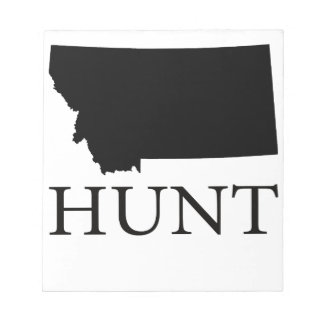 Hunt Montana Notepad