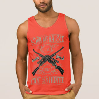 Hunt or be Hunted Men's Cotton Tank Top