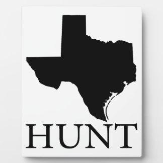 Hunt Texas Plaque
