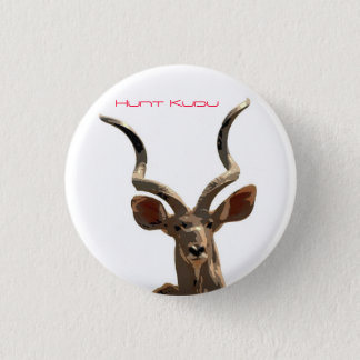 Hunt the Kudu 3 Cm Round Badge