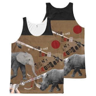 Hunt Wildlife Poachers All-Over Print Tank Top