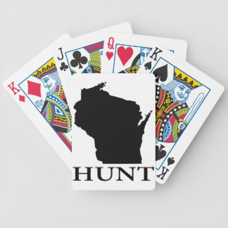 Hunt Wisconsin Bicycle Playing Cards