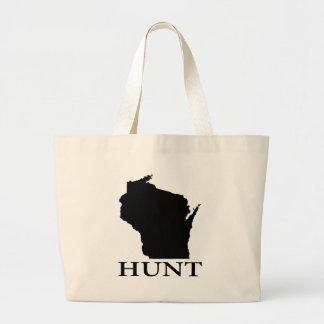 Hunt Wisconsin Large Tote Bag