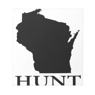 Hunt Wisconsin Notepad