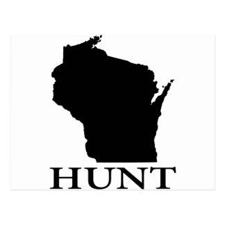 Hunt Wisconsin Postcard